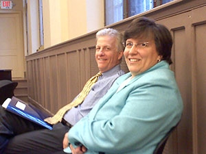 Tom Savoth and Cheryl Notari, Wardens of St. George's