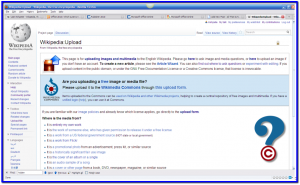 Wikipedia Upload