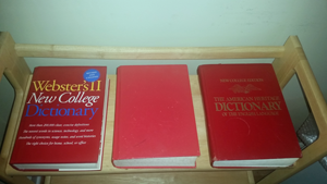 3 Dictionaries